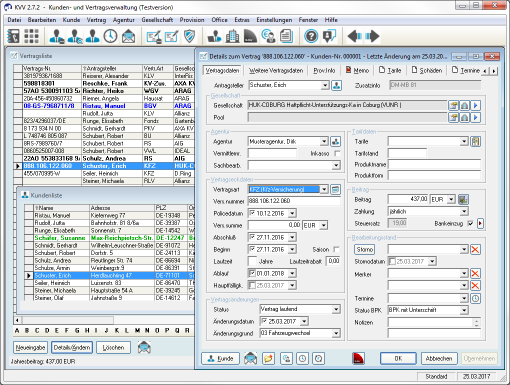 Screenshot KVV 2.7.2